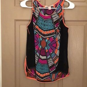 Colorful forever 21 contemporary tank